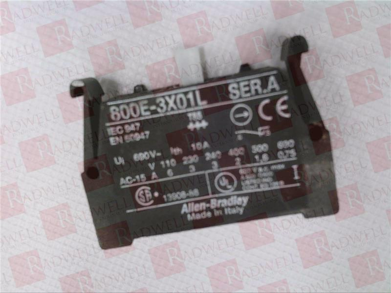 ALLEN BRADLEY 800E-3X01L