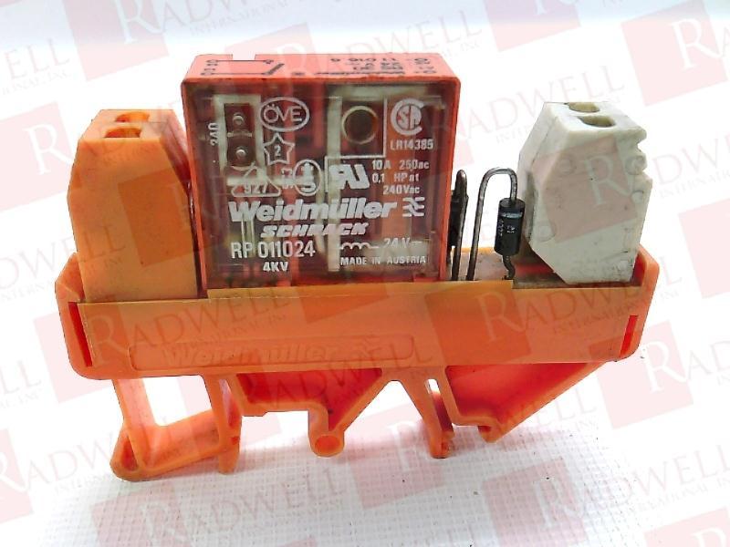 RP011024 by WEIDMULLER - Buy or Repair at Radwell - Radwell com