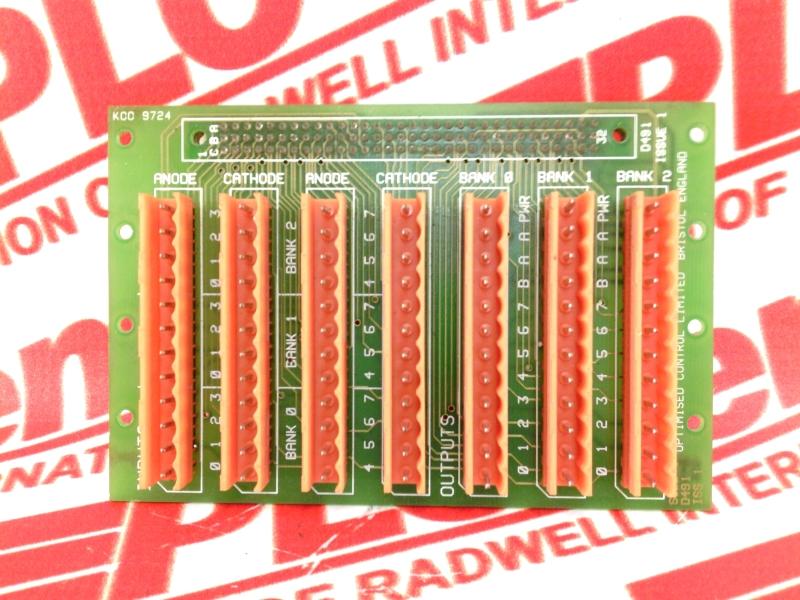 OPTIMISED CONTROL D491