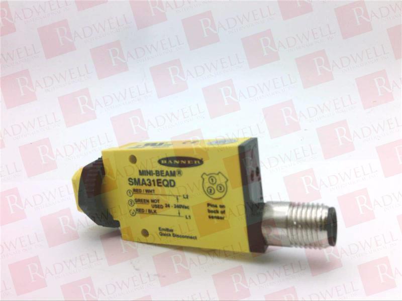 SMA31EQD 26842 Banner Mini-Beam Photoelectric Sensor Switch NEW