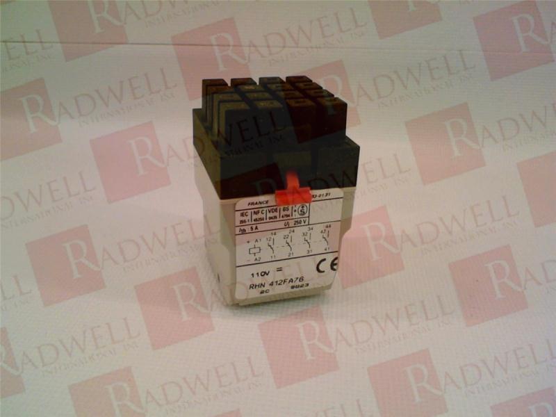 SCHNEIDER ELECTRIC RHN412FA76