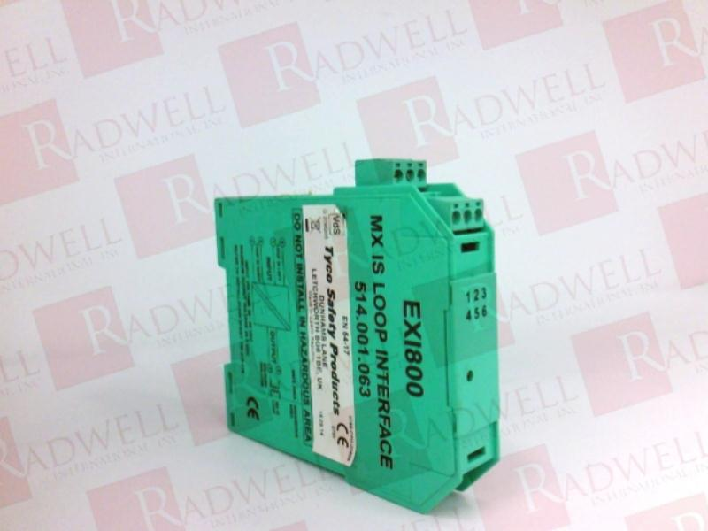 514 001 063 by TYCO - Buy or Repair at Radwell - Radwell co uk