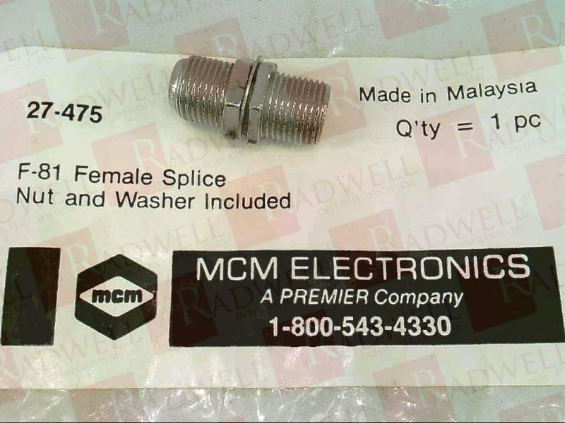 MCM ELECTRONICS 27-475