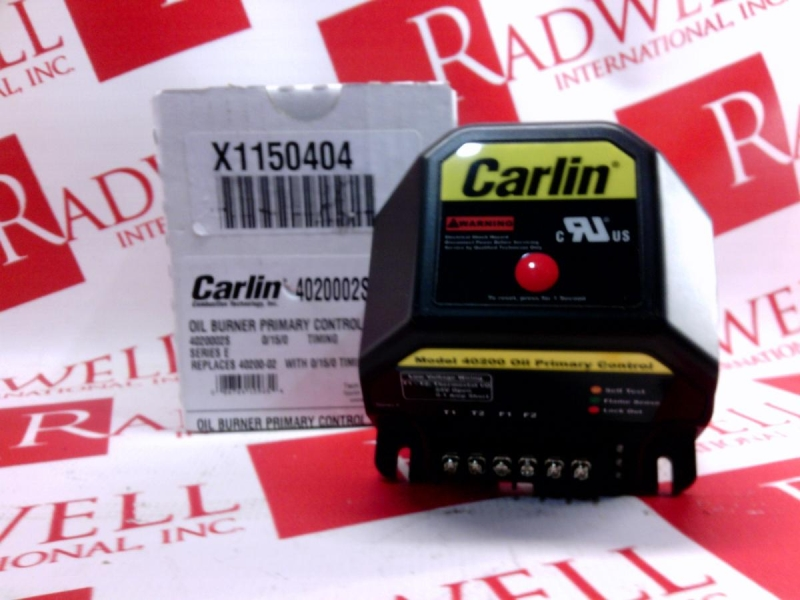 CARLIN COMBUSTION TECHNOLOGY 40200-02