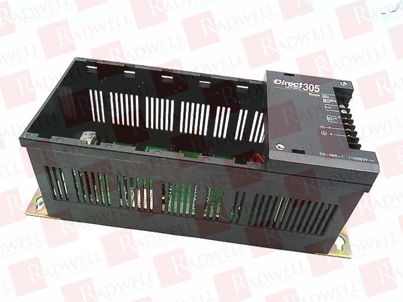 D3-05B-1 Automation Direct 5-slot Rack DirectLogic 305 -SA