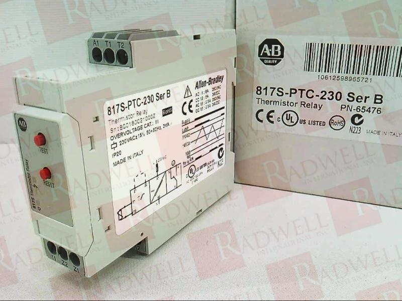 817S-PTC-230 by ALLEN BRADLEY - Buy or Repair at Radwell - Radwell com