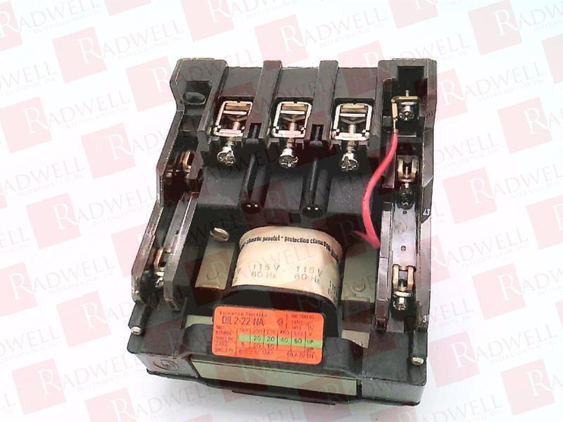EATON CORPORATION DIL22-2-NA-115V 0