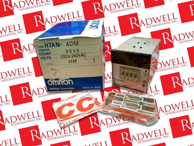 OMRON H7AN-4DM AC100-240