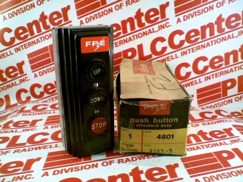 FEDERAL PACIFIC 4801-ASA3-3