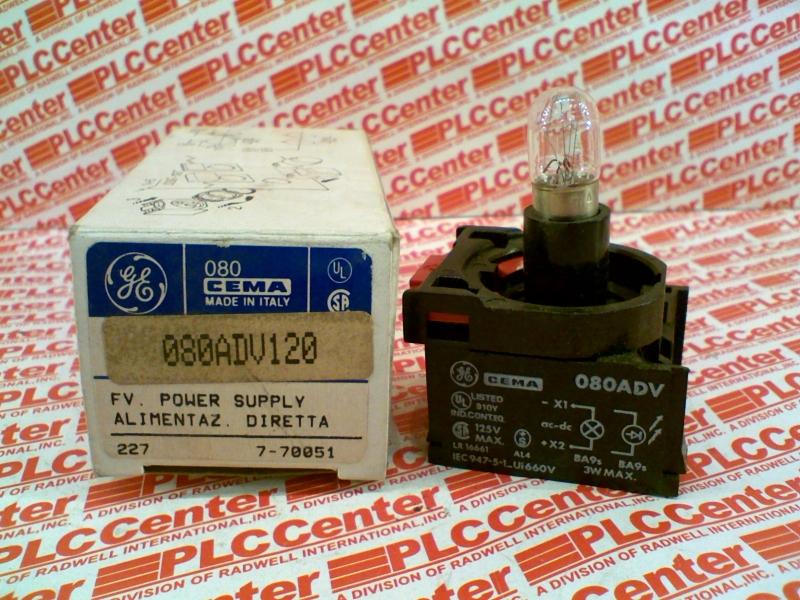 GENERAL ELECTRIC 080ADV120 1