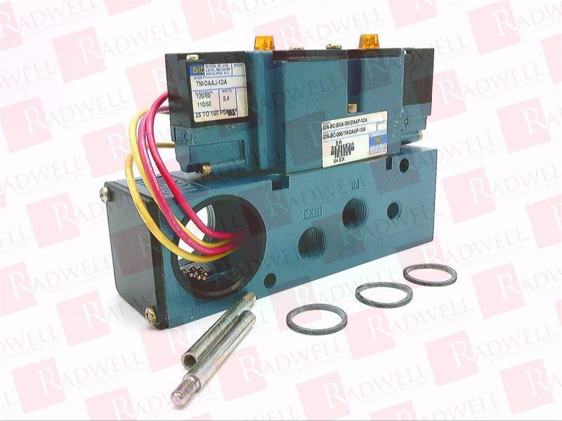 NUMATICS 081SA400K000030 Solenoid Air Control Valve,1//4 In,120VAC