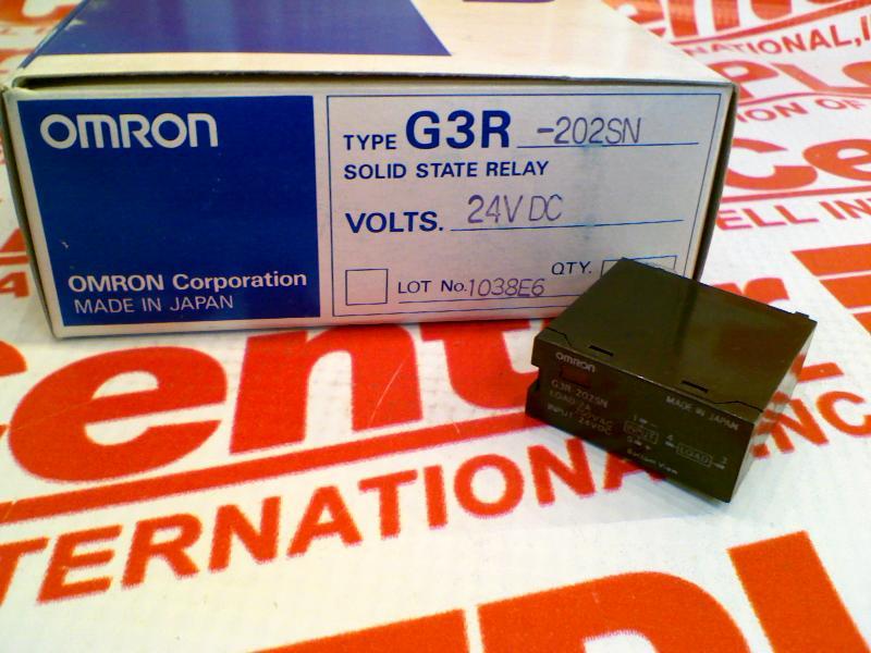 OMRON G3R-202SN-DC24