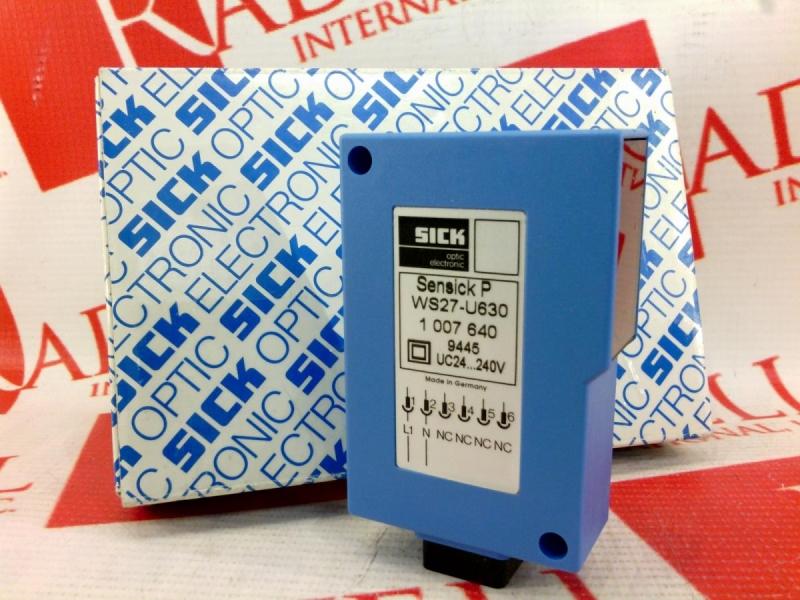 SICK OPTIC ELECTRONIC WS27-U630 2