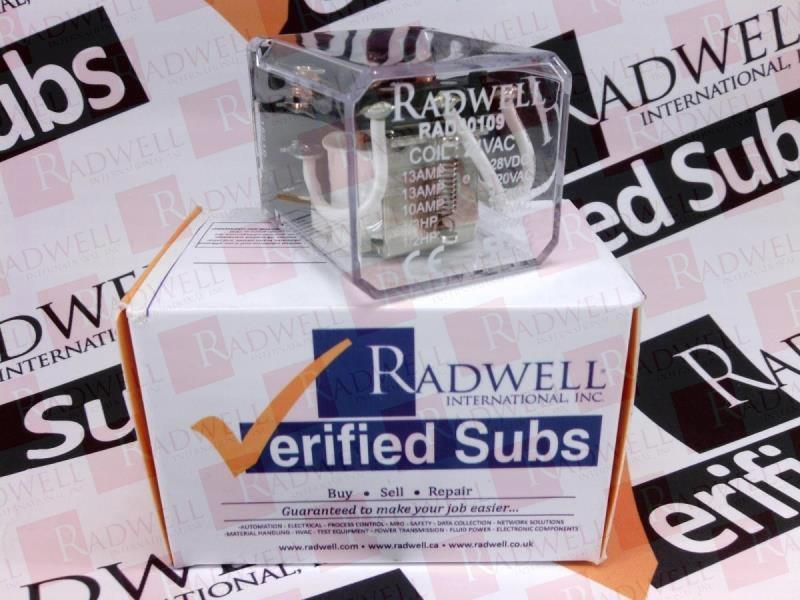RADWELL VERIFIED SUBSTITUTE RR3B-U-AC24V-SUB