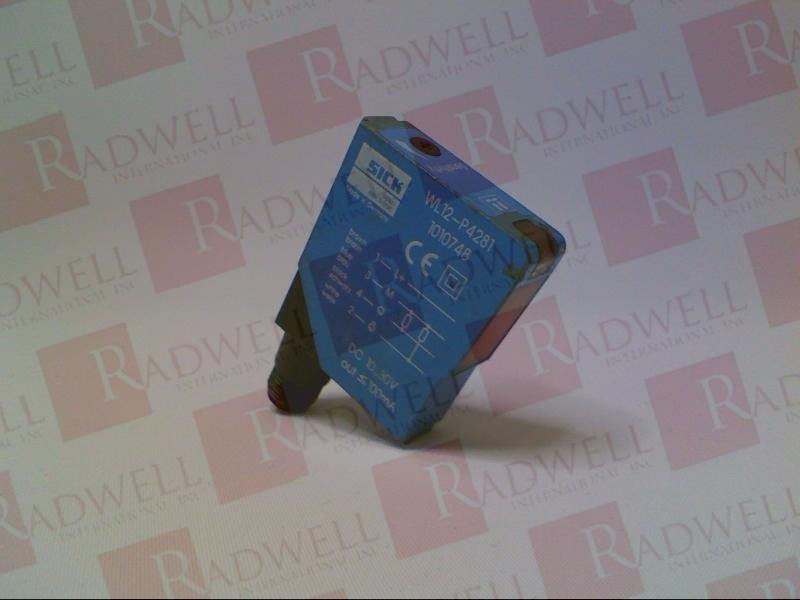 SICK OPTIC ELECTRONIC WL12-P4281