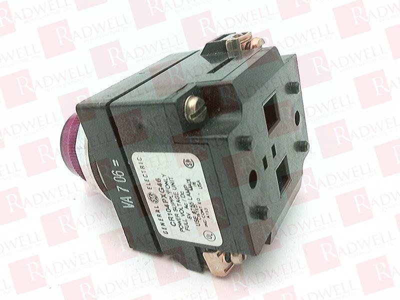 GENERAL ELECTRIC CR104PLG16R 1