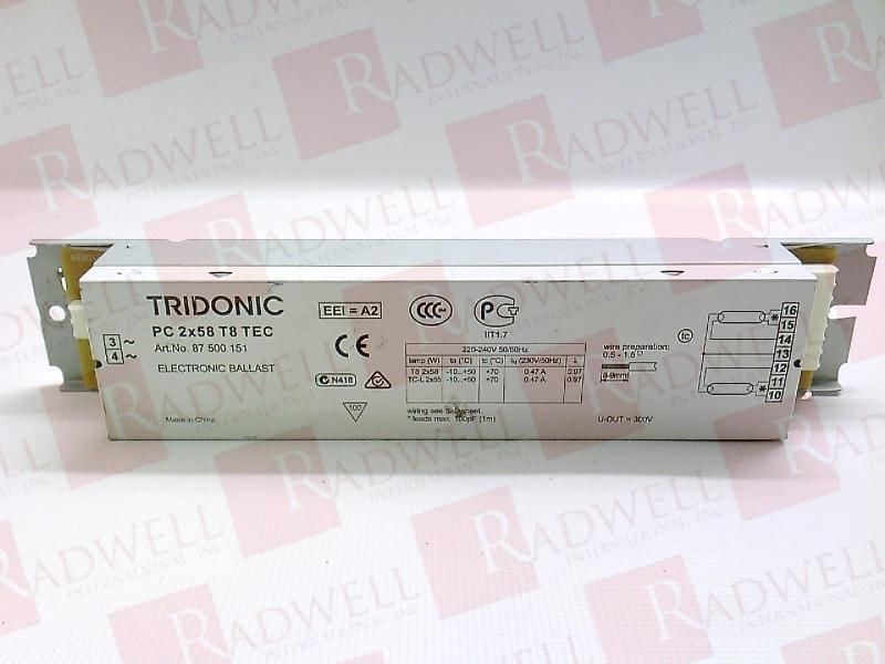 PC-2X58-T8-TEC by ZUMTOBEL - Buy or Repair at Radwell