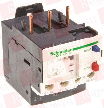 SCHNEIDER ELECTRIC LRD08 0