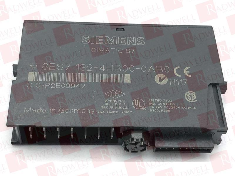 Siemens SIMATIC 6es7132-4hb00-0ab0 s7 6es7 132-4hb00-0ab0