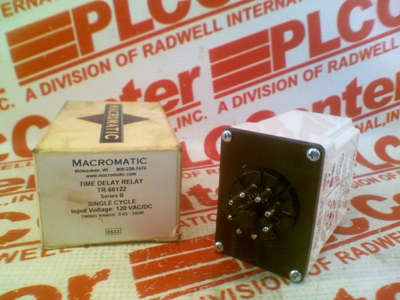 TR-66122 by MACROMATIC - Buy or Repair at Radwell - Radwell.com on