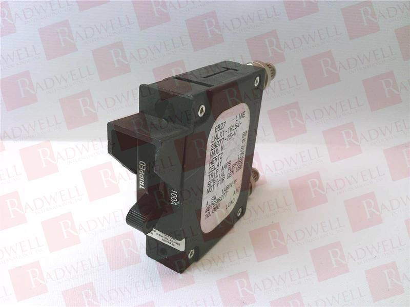 NEW Sensata Airpax LMLK1-1RLS4-29877-15-V Circuit Breaker 100 Amp 80V DC