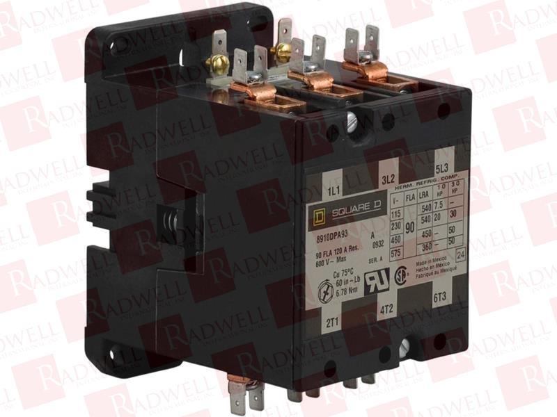 Square D Model DPA 23 SER A 35 AMP DEFINITE CONTACTOR *W2