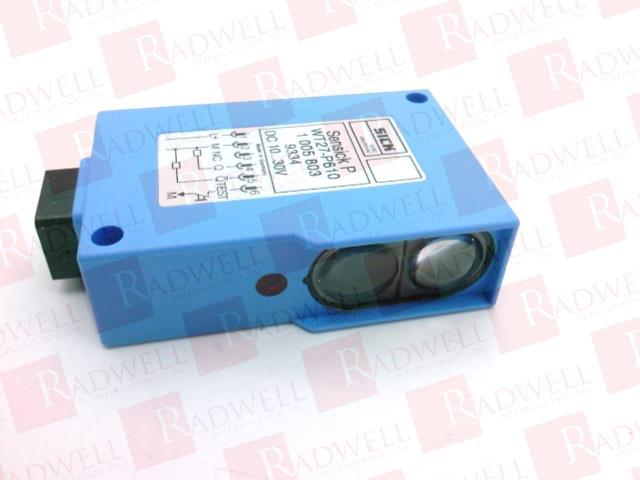 SICK OPTIC ELECTRONIC WT27-P610 0
