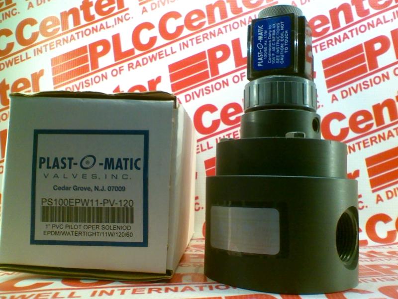 PLASTOMATIC VALVES PS100EPW11-PV-120