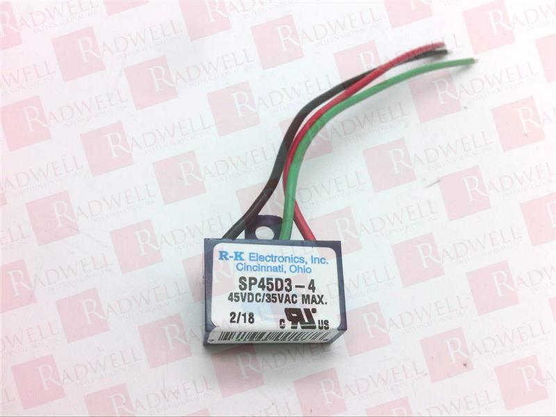 RK ELECTRONICS SP45D3-4 0