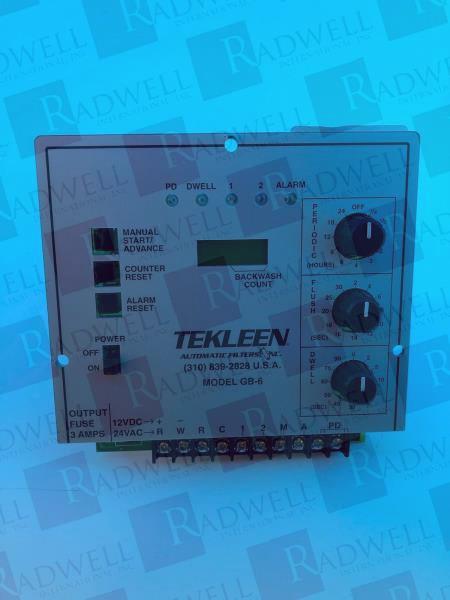 TEKLEEN FILTER GB6-110V