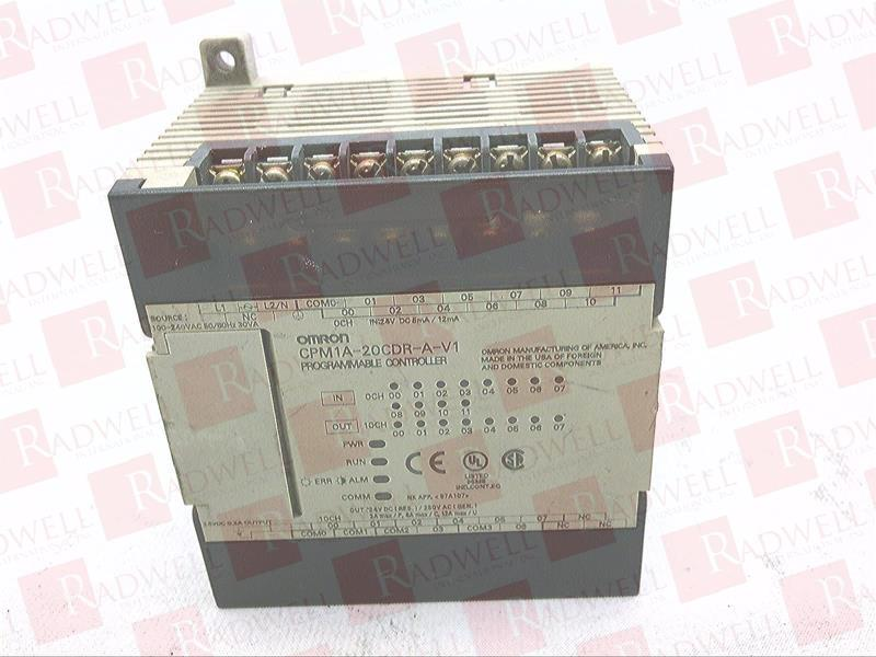 OMRON CPM1A-20CDR-A-V1 1