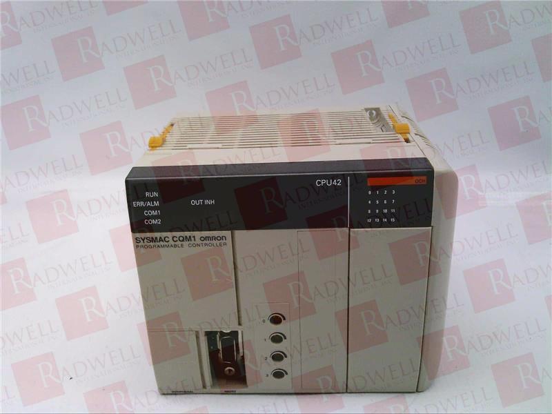 OMRON CQM1-CPU42-E 0