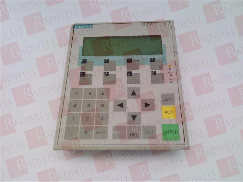 SIEMENS 6AV3607-1JC20-0AX1  1