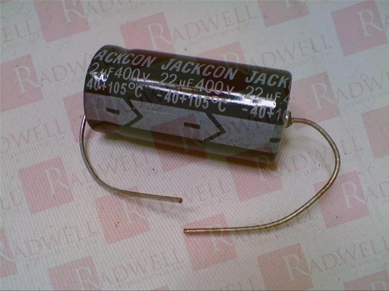 JACKCON CAPACITOR ELECTRONICS LAK220M400V1633