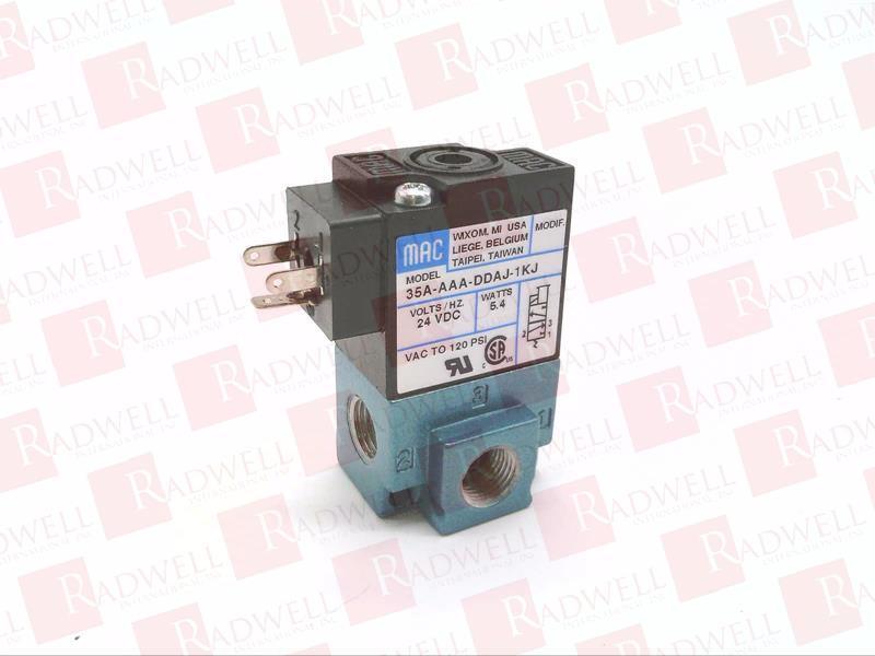 35A-AAA-DDAJ-1KJ by MAC VALVES INC - Buy or Repair at Radwell ... on