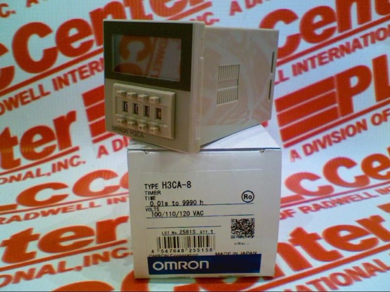 OMRON H3CA-8-AC100/110/120 1