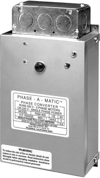 PHASEAMATIC PAM-400HD