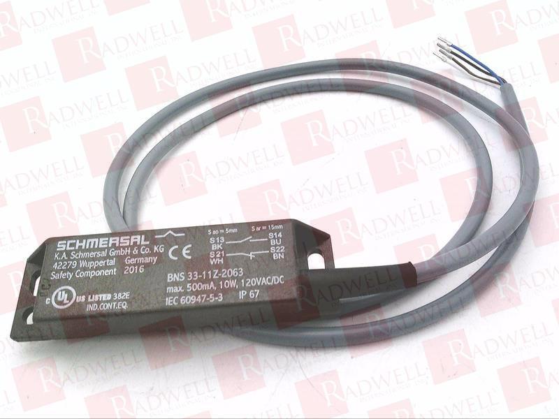 SCHMERSAL BNS33-11Z-2063