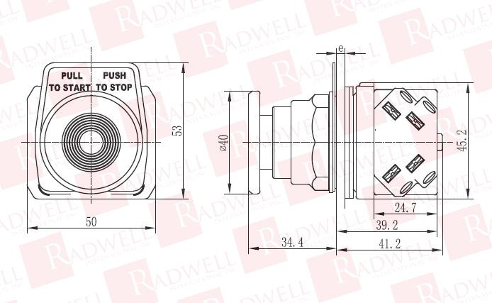 RADWELL VERIFIED SUBSTITUTE 800T-FX6A1-SUB 1