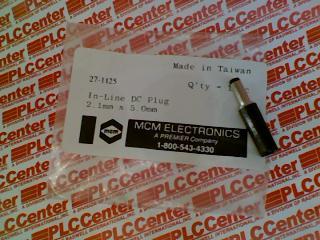 MCM ELECTRONICS 27-1125