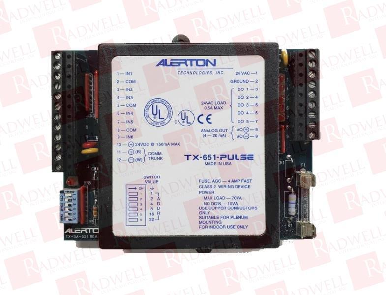 ALERTON TX-651-PULSE