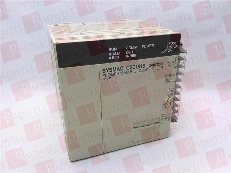 OMRON C200HS-CPU01-E