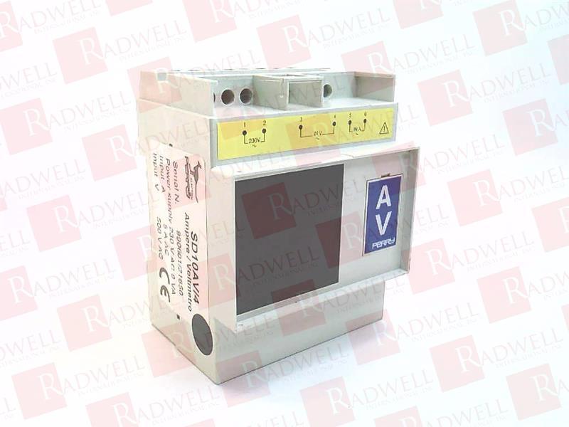PERRY ELECTRIC SD10AV/4