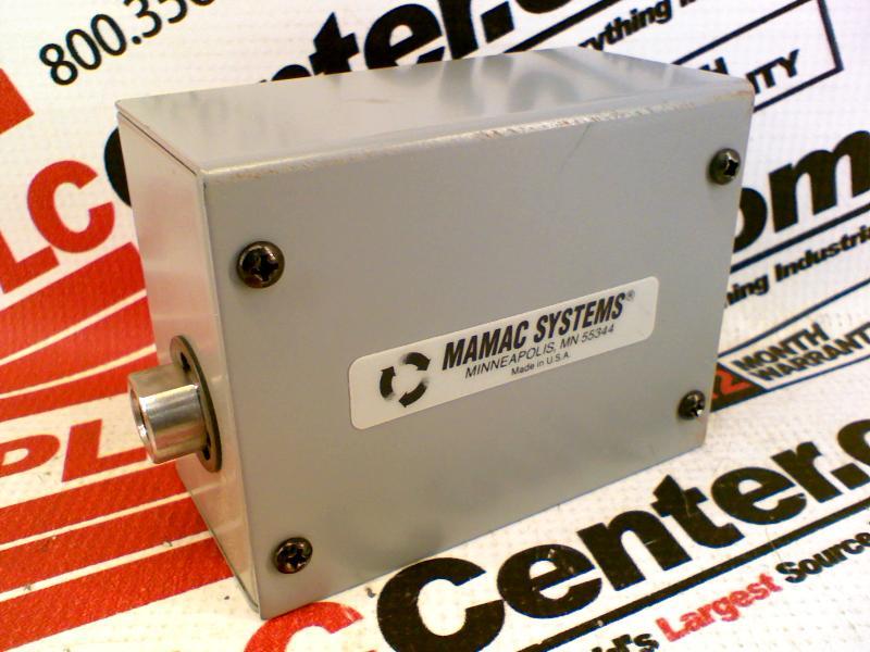 MAMAC SYSTEMS PR-262-6-12-B-1-2-A