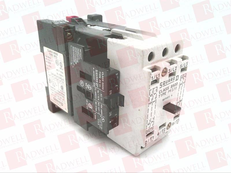 SCHNEIDER ELECTRIC 8502-PF3.11V02