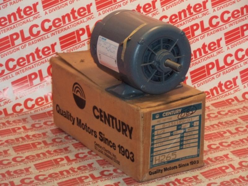 CENTURY ELECTRIC MOTORS H265