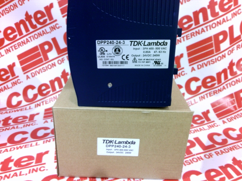 DPP240-24-3 by TDK - Buy or Repair at Radwell - Radwell com