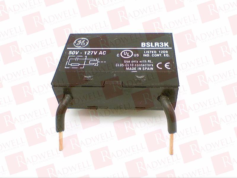 GENERAL ELECTRIC BSLR3K