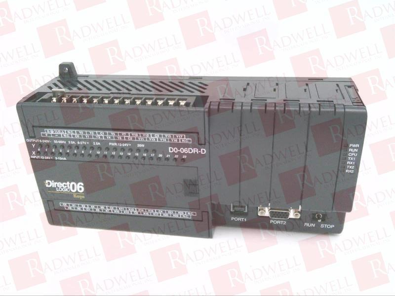 Automation Direct C0-01DR-D Click PLC I//O Controller