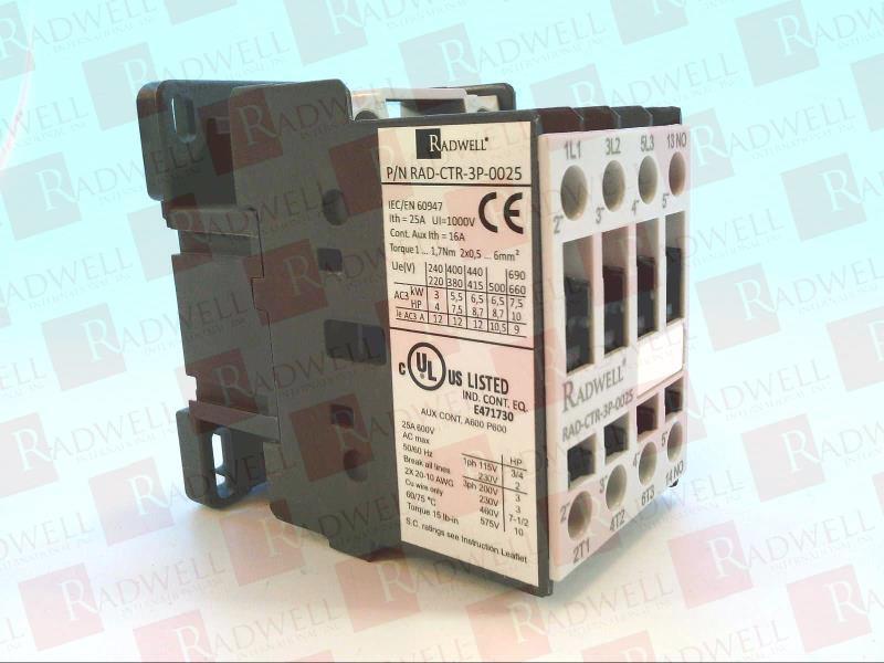 RADWELL VERIFIED SUBSTITUTE MC9B-30-11-P7-S-E-SUB